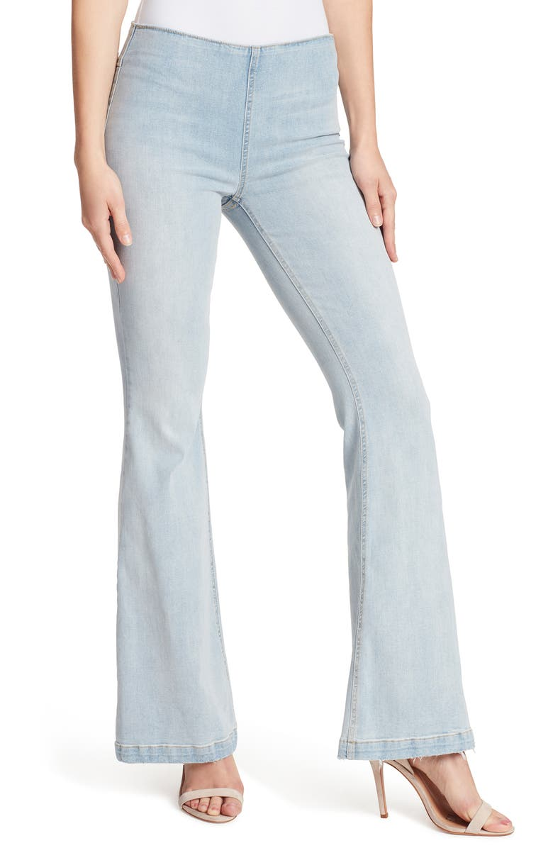 ELLA MOSS Pull-On Flare Jeans, Main, color, 400