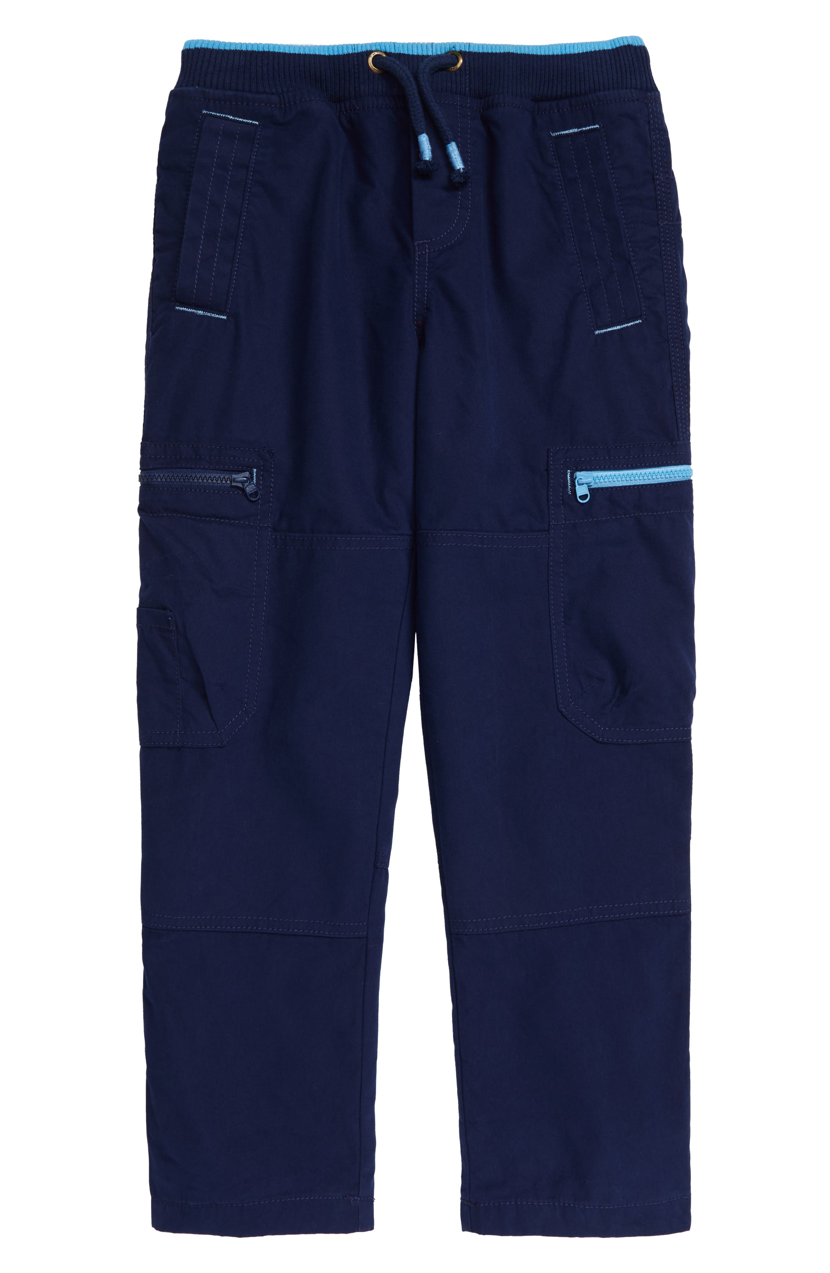 Every boy needs these sporty tie-waist pants that are lined for warmth and fitted with plenty of handy pockets. Style Name: Midi Boden Cozy Lined Cargo Pants (Toddler, Little Boy & Big Boy). Style Number: 6102259. Available in stores.