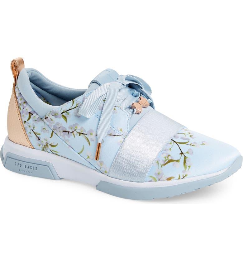 TED BAKER LONDON Cepap Floral Sneaker, Main, color, 464