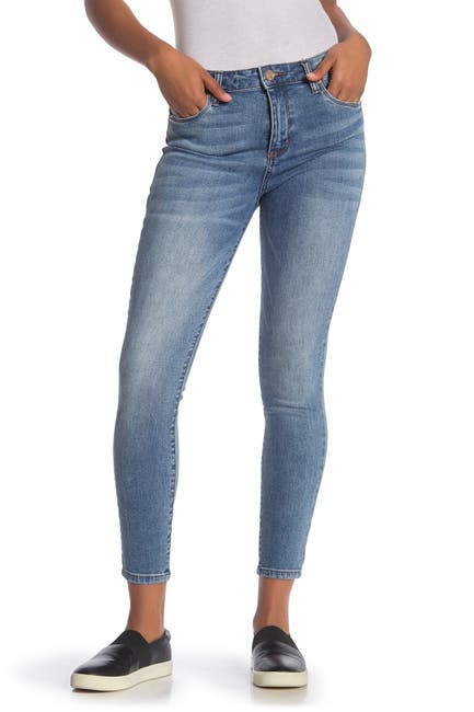 Image of STS BLUE Brittany High Rise Ankle Skinny Leg Jeans