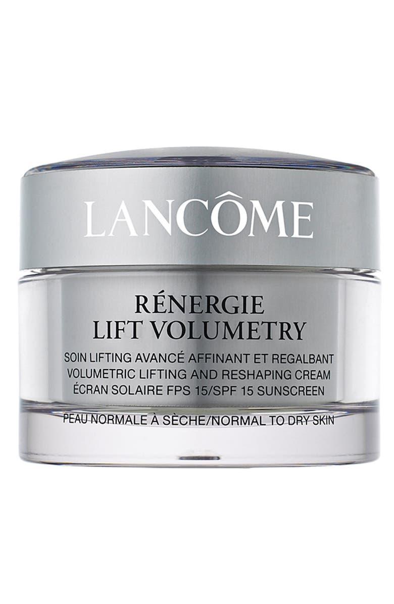 LANCÔME 'Rénergie Lift Volumetry' Volumetric Lifting and Reshaping Cream SPF 15, Main, color, 000