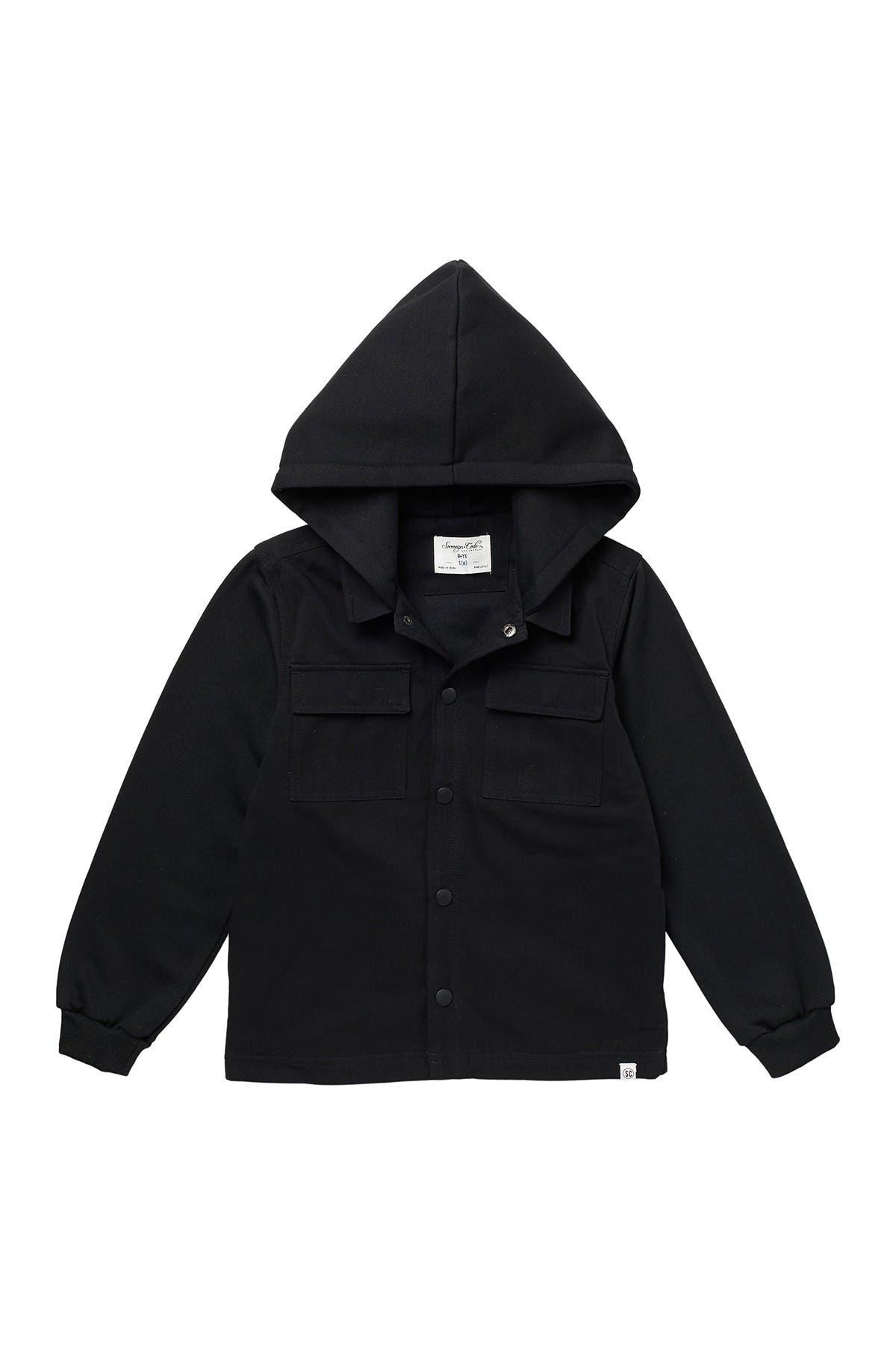 Image of Sovereign Code Murdock Hooded Shirt Jacket