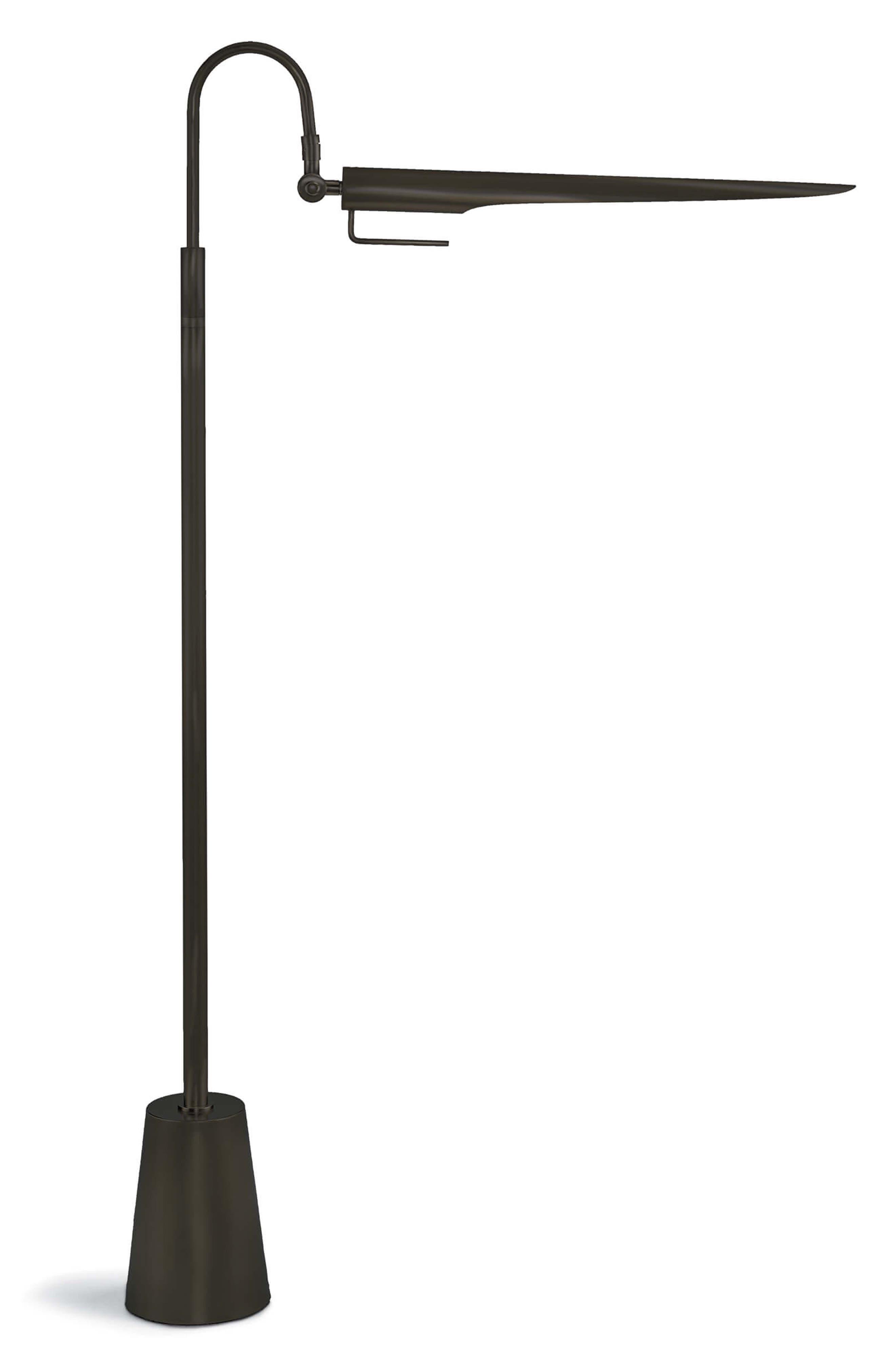 Regina Andrew Design Raven Floor Lamp Size One Size  Metallic