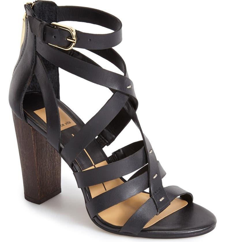 DOLCE VITA 'Nolin' Leather Sandal, Main, color, 001