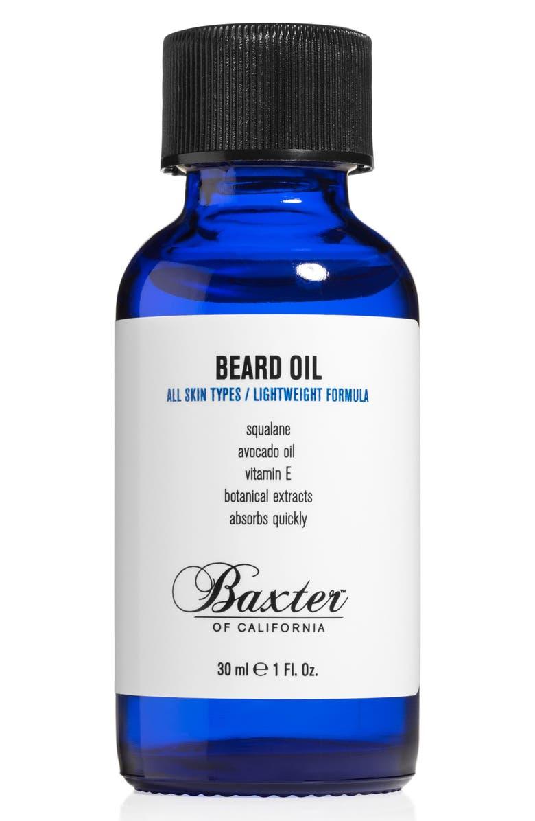 BAXTER OF CALIFORNIA Beard Oil, Main, color, NO COLOR
