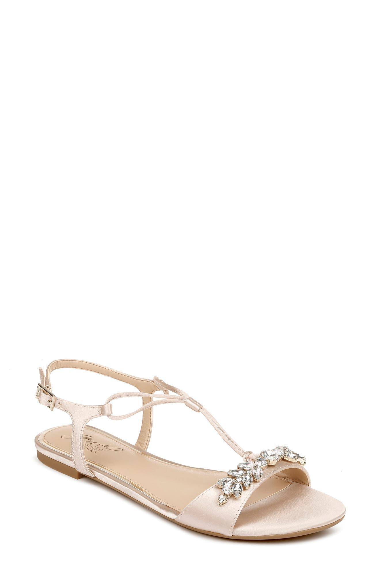 Women's Badgely Mischka Paulina Embellished Sandal