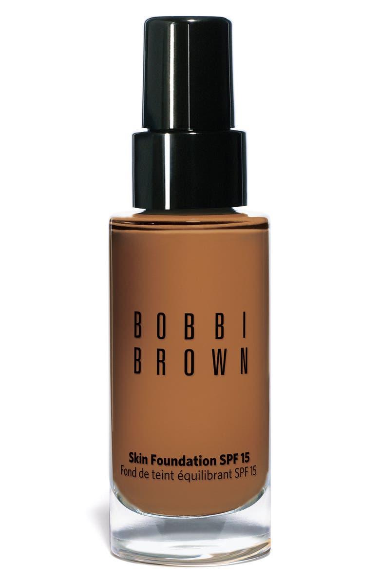 BOBBI BROWN Skin Foundation SPF 15, Main, color, #06.5 WARM ALMOND