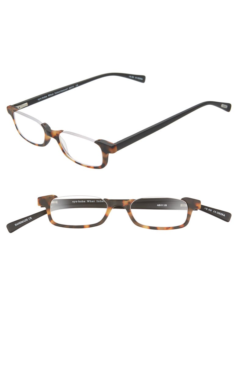 EYEBOBS What Inheritance 46mm Reading Glasses, Main, color, 210