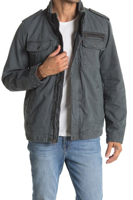 Image of Levi's Reverse Twill Military Jacket