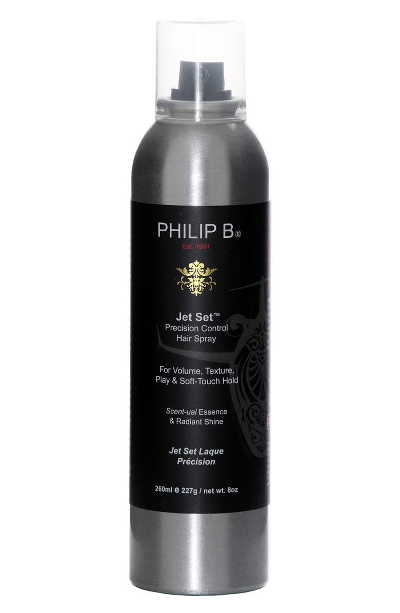 PHILIP B<SUP>®</SUP> Jet Set<sup>™</sup> Precision Control Hair Spray, Main, color, 000