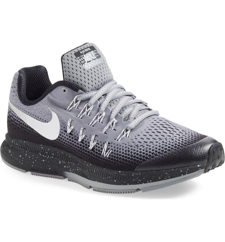 f2944e69b61d4 Nike Zoom Pegasus 33 Shield Sneaker (Big Kid) | Nordstrom