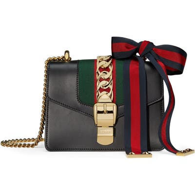 Gucci Mini Leather Shoulder Bag -