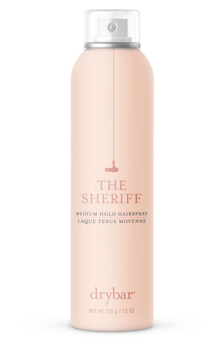 DRYBAR The Sheriff Medium Hold Hairspray, Main, color, 000