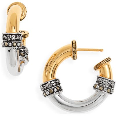 Alexander Mcqueen Small Hoop Earrings