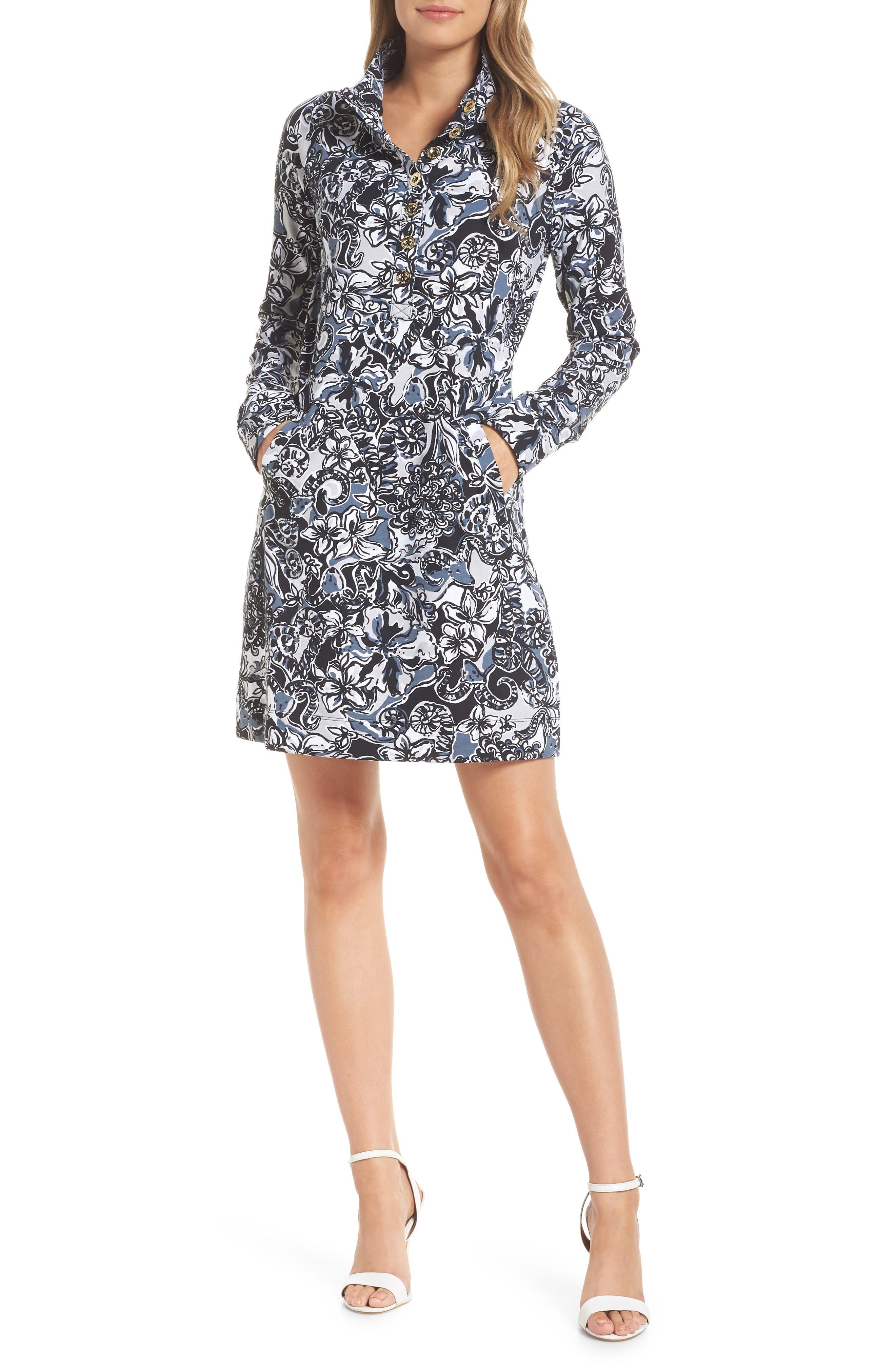 Lilly Pulitzer Captain Upf 50+ Shift Dress