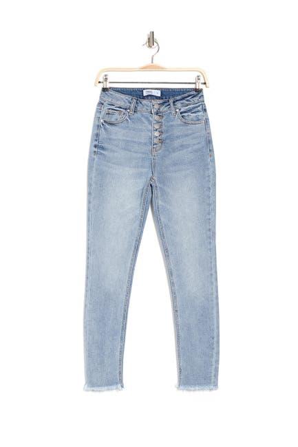 Image of Tinsel Straight Leg Mom Jeans