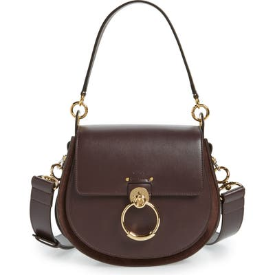 Chloe Medium Tess Calfskin Leather Shoulder Bag -