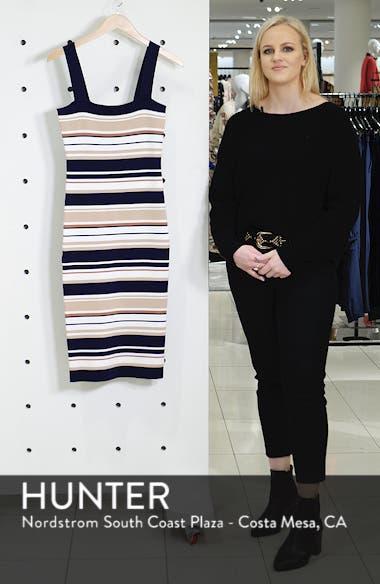 Multi Stripe Sweater Dress, sales video thumbnail