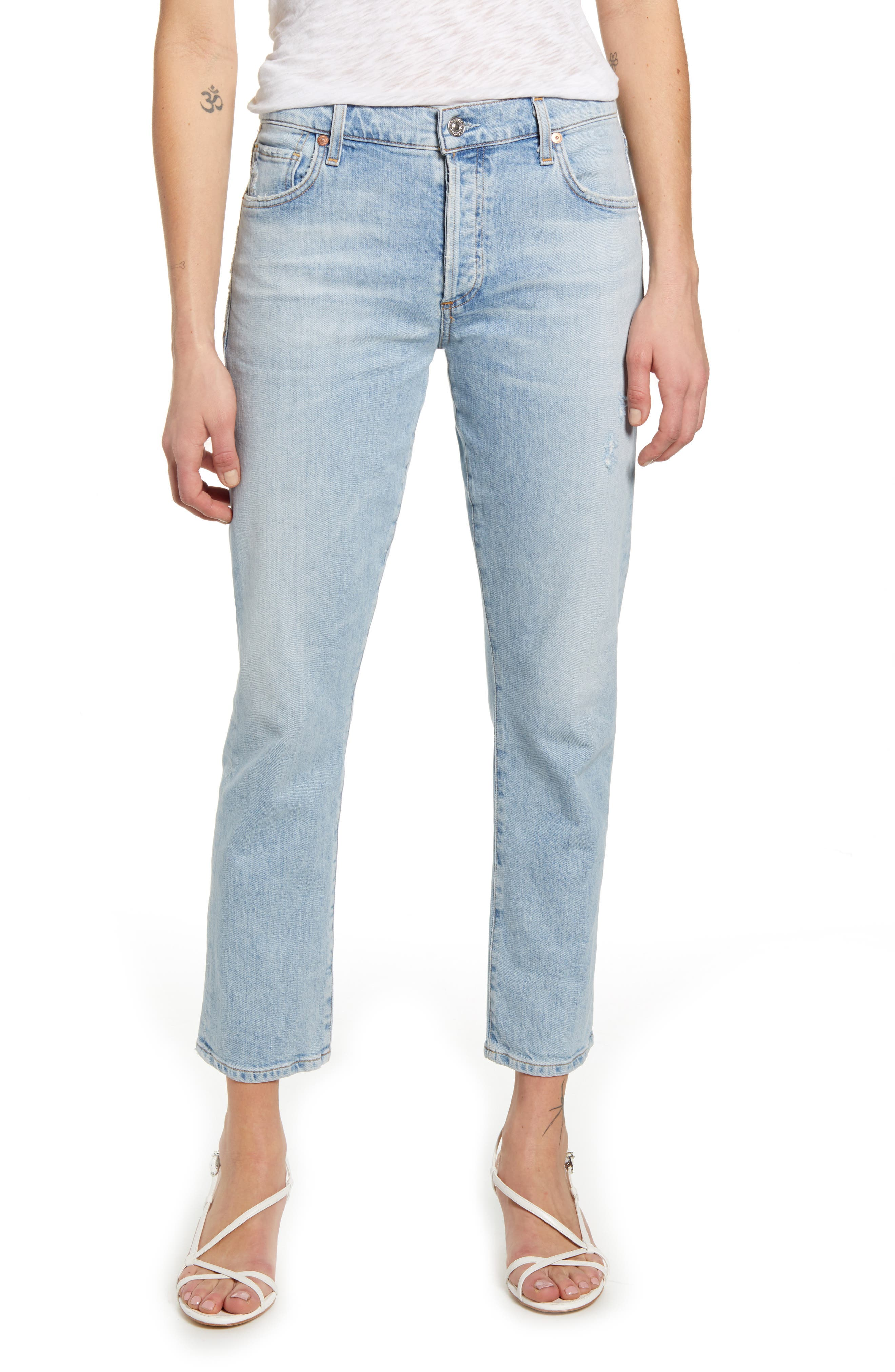 Citizens of Humanity Emerson Slim Boyfriend Jeans (Try Me)   Nordstrom