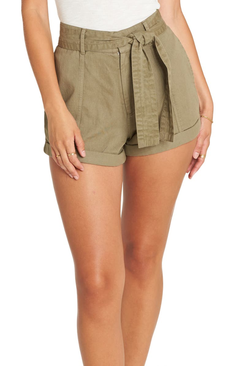 BILLABONG Day after Day Belted Shorts, Main, color, 300