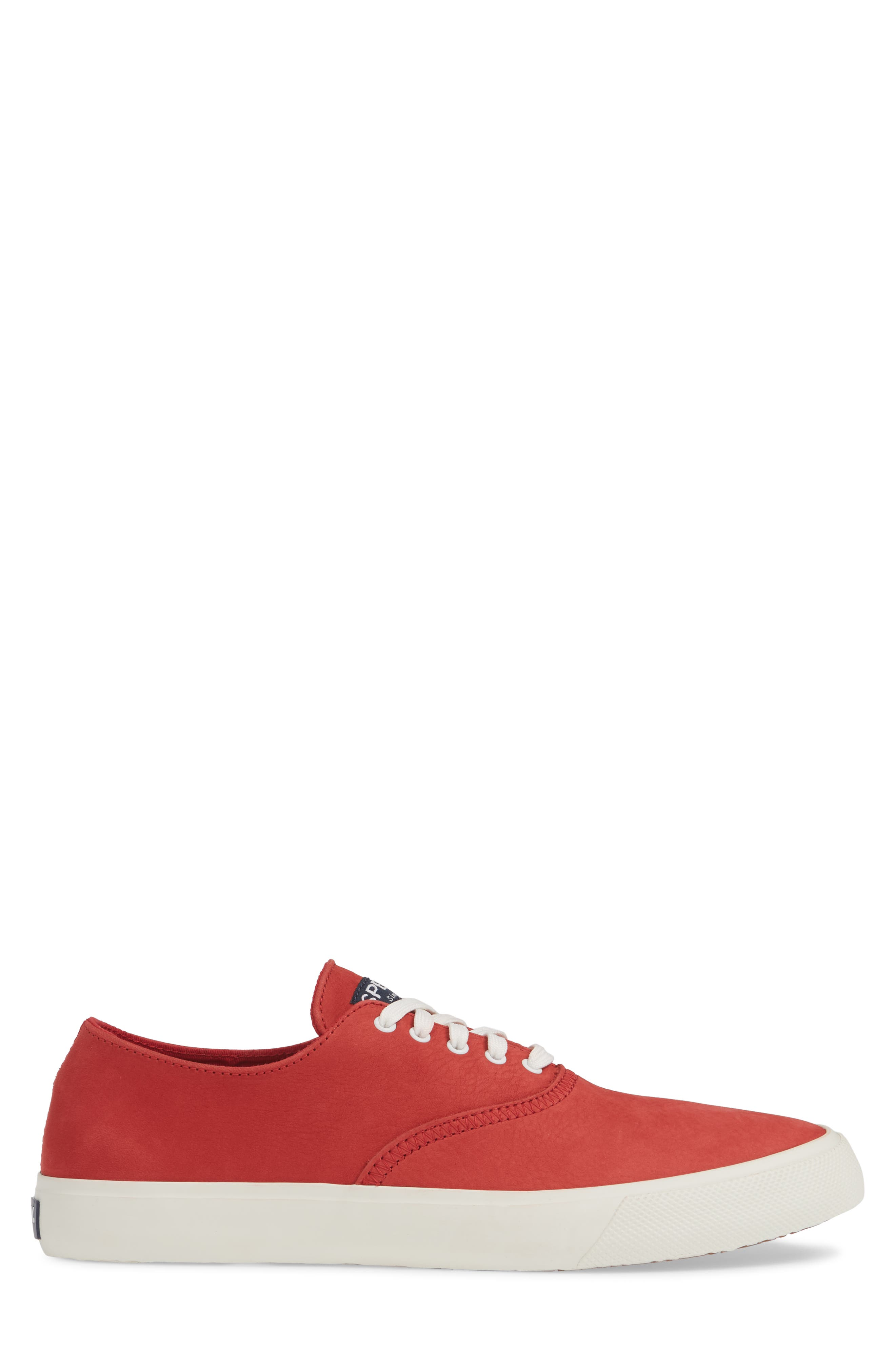 ,                             Captains CVO Washable Sneaker,                             Alternate thumbnail 3, color,                             RED LEATHER