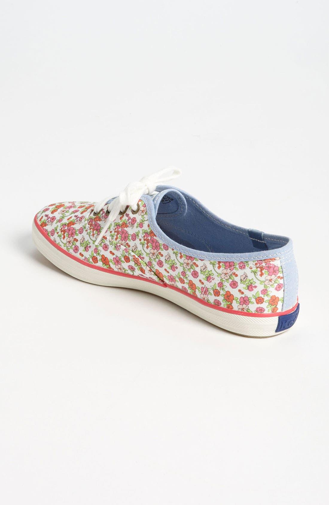,                             'Champion - Floral' Sneaker,                             Alternate thumbnail 4, color,                             100