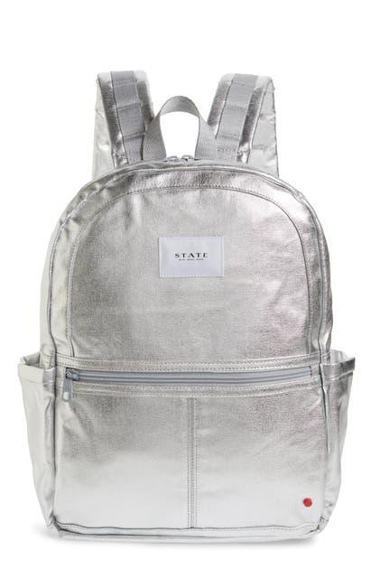 State Backpacks Kane Metallic Backpack
