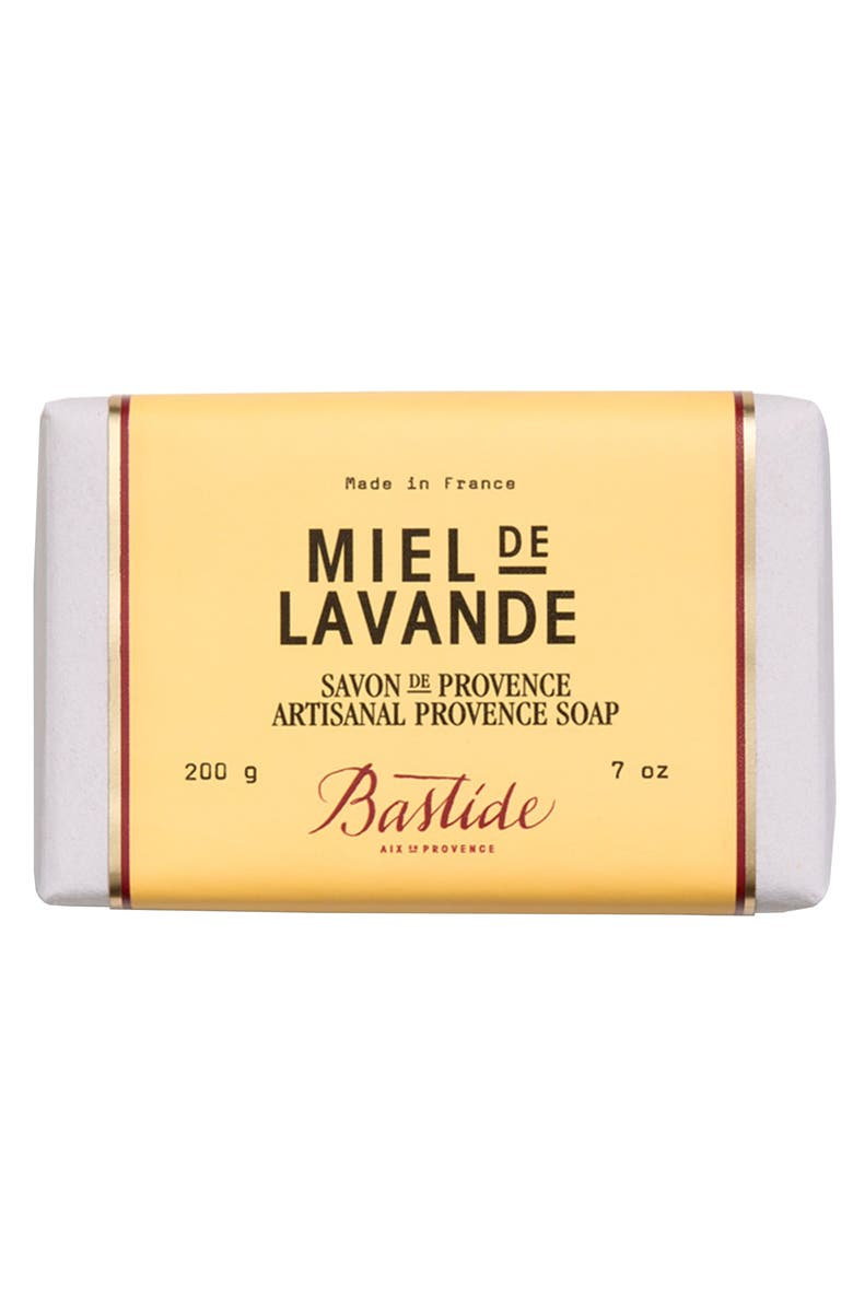 BASTIDE Artisanal Provence Soap, Main, color, MIEL DE LAVANDE