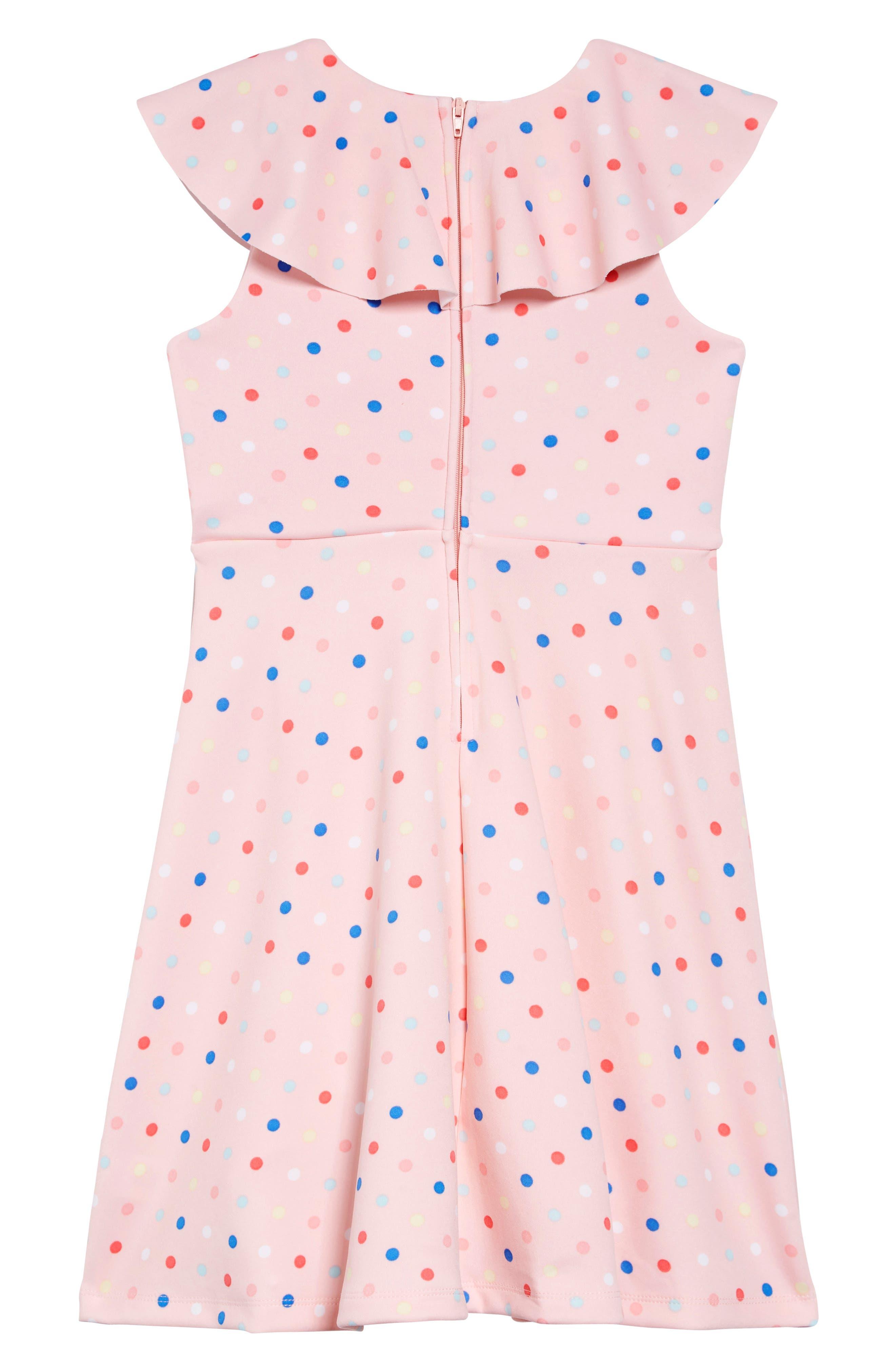 ,                             Ruffle Polka Dot Dress,                             Alternate thumbnail 2, color,                             693