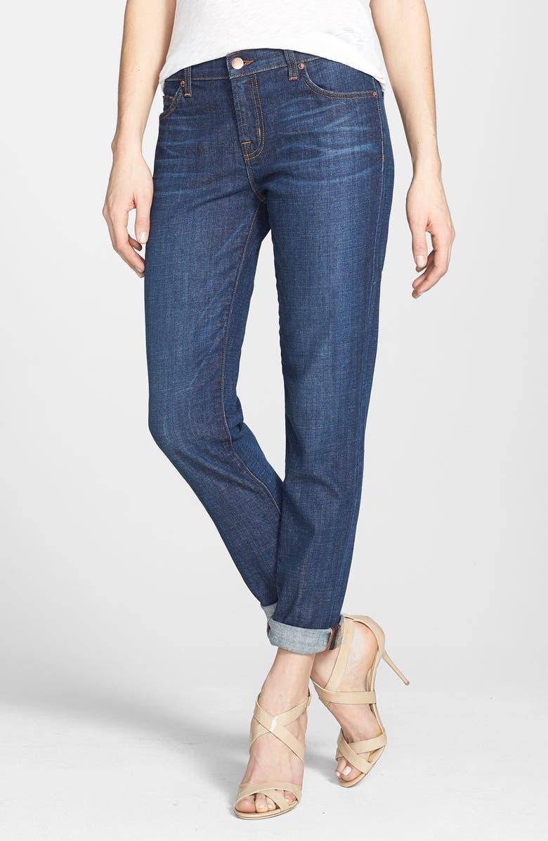 J BRAND 'Midori' Straight Leg Boyfriend Jeans, Main, color, 410