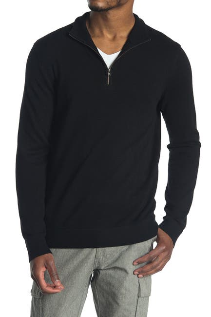 Image of Theory Donners Mock Neck Cashmere Sweater