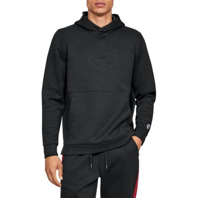 Under Armour Athlete Recovery Warm-Up Hoodie, Black