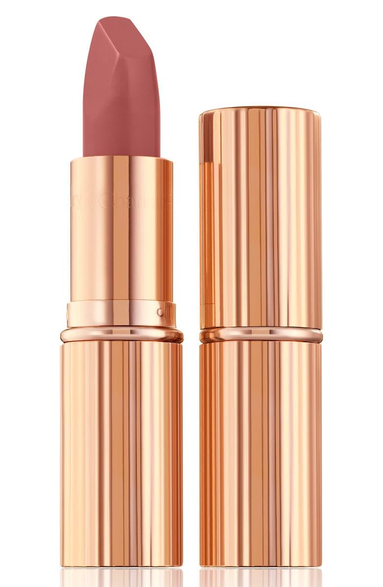 CHARLOTTE TILBURY Pillow Talk Medium Matte Revolution Lipstick, Main, color, PILLOW TALK MEDIUM