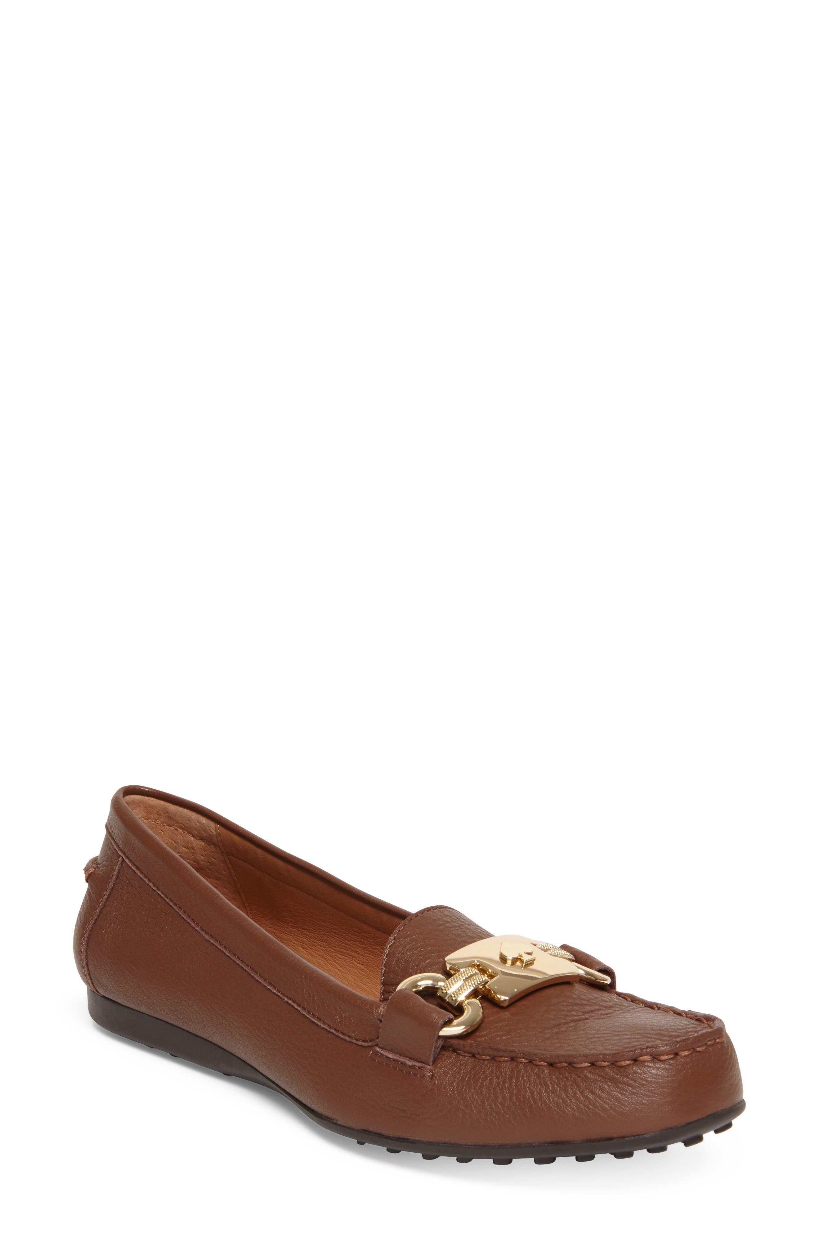 Kate Spade New York Carson Loafer- Brown