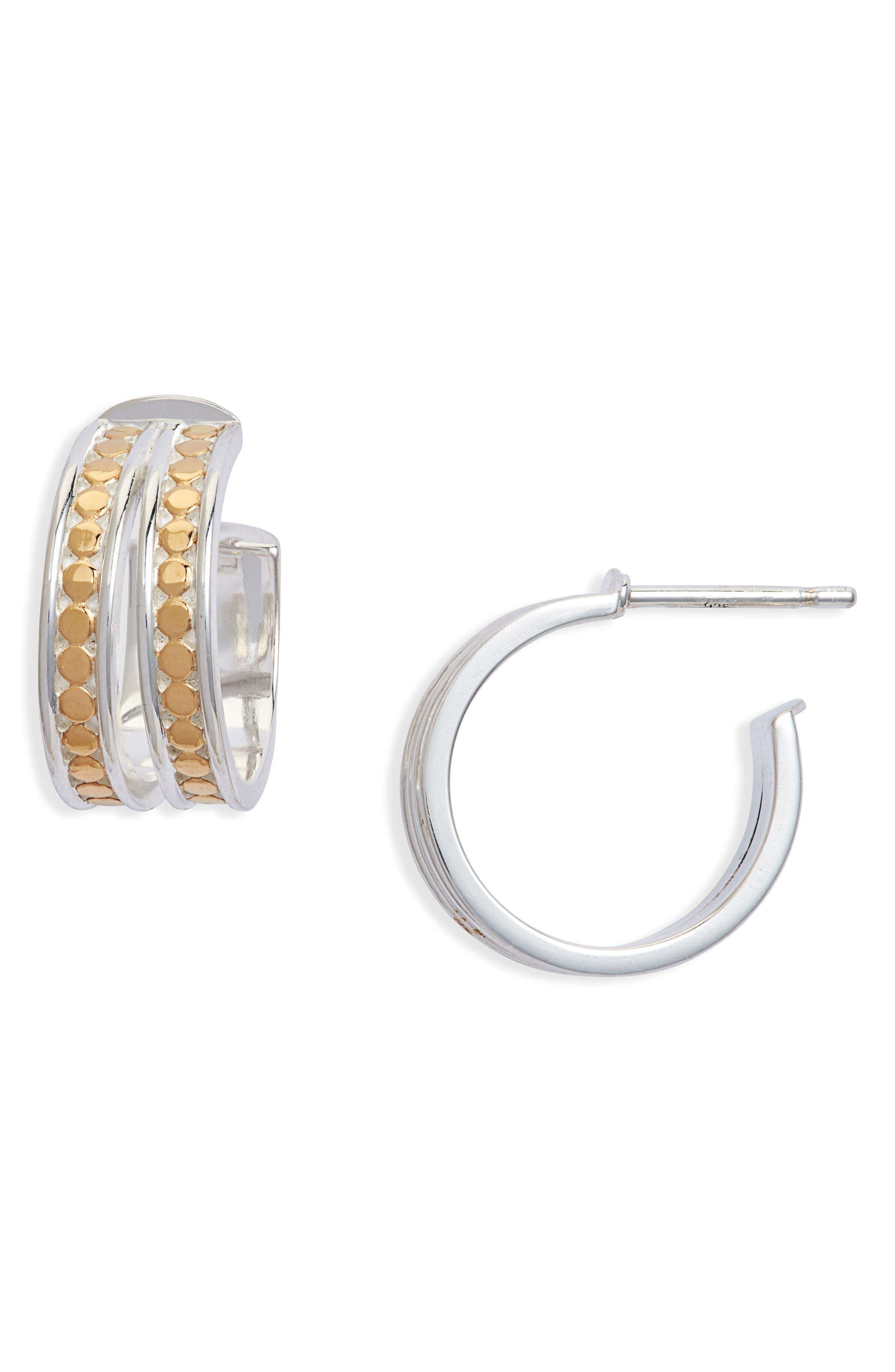 Split Hoop Earrings