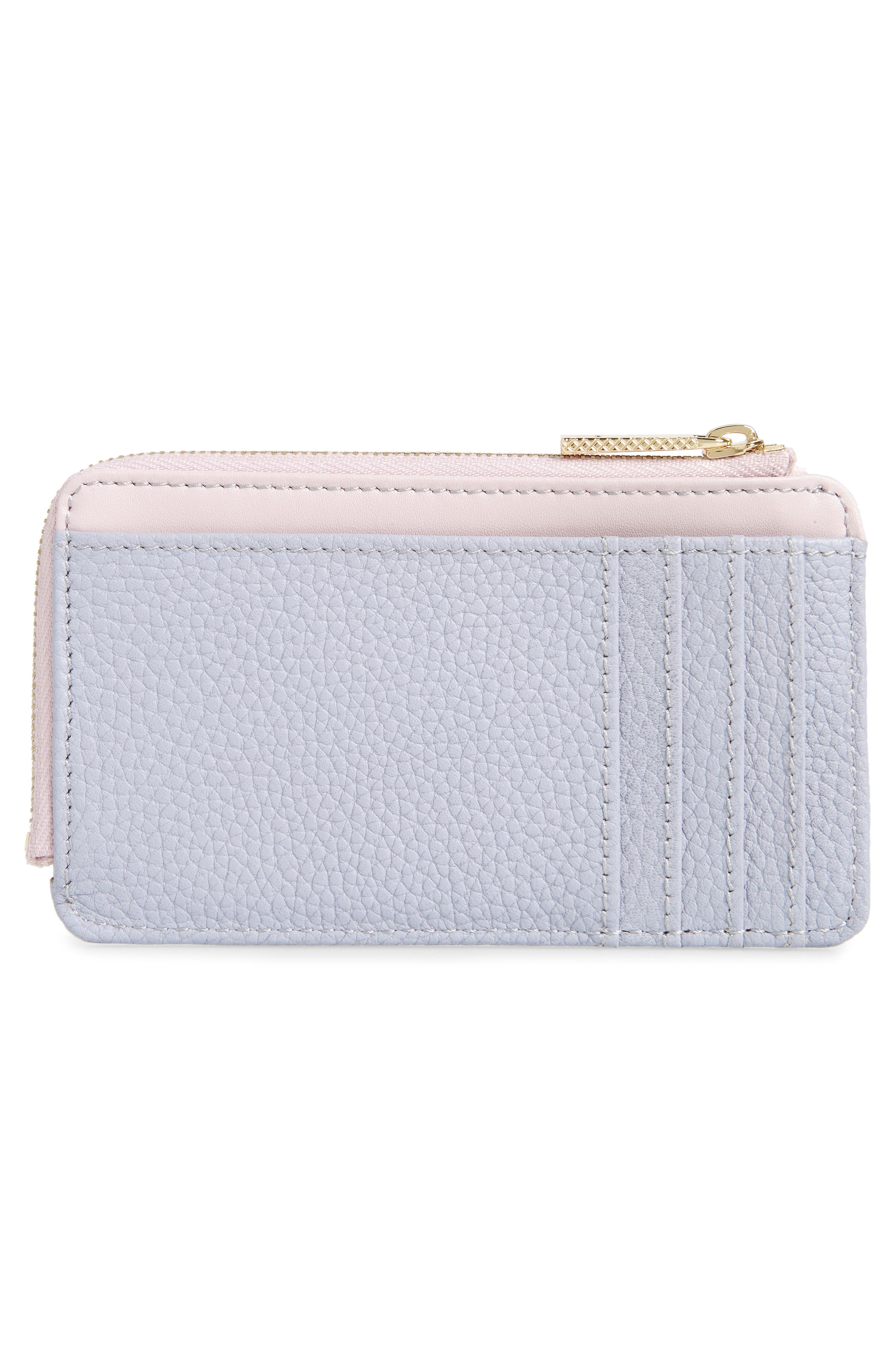 ,                             Lotta Bow Leather Card Case,                             Alternate thumbnail 6, color,                             400