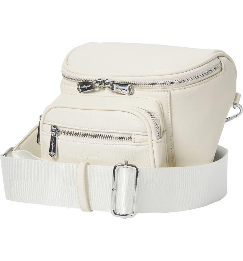URBAN ORIGINALS High Impact Vegan Leather Shoulder Bag, Main, color, OAT