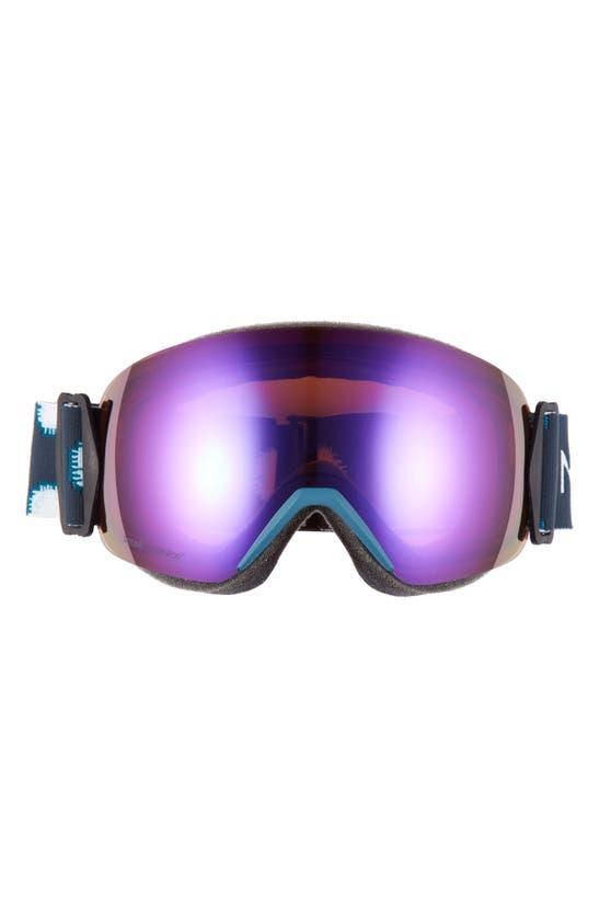 Smith Skyline 205mm Chromapop Snow Goggles In Meridian Ikat/ Everyday Violet