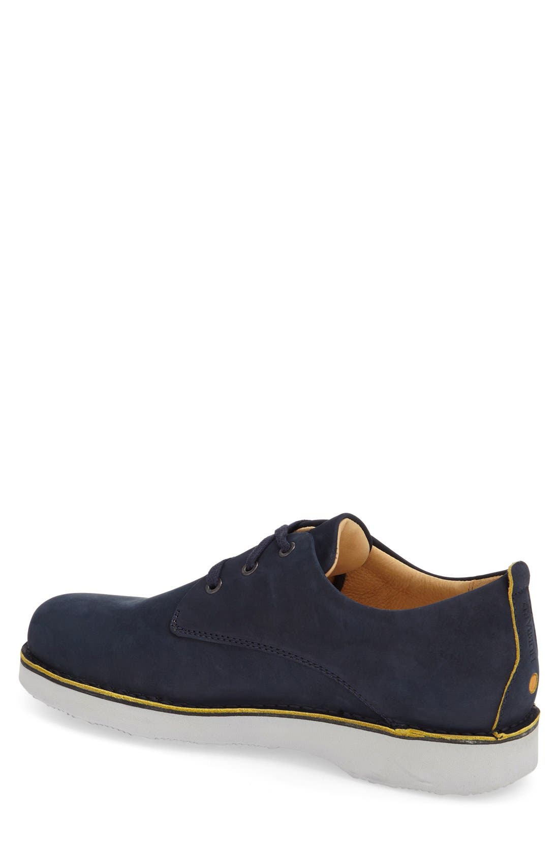 ,                             'Free' Plain Toe Derby,                             Alternate thumbnail 2, color,                             NAVY NUBUCK