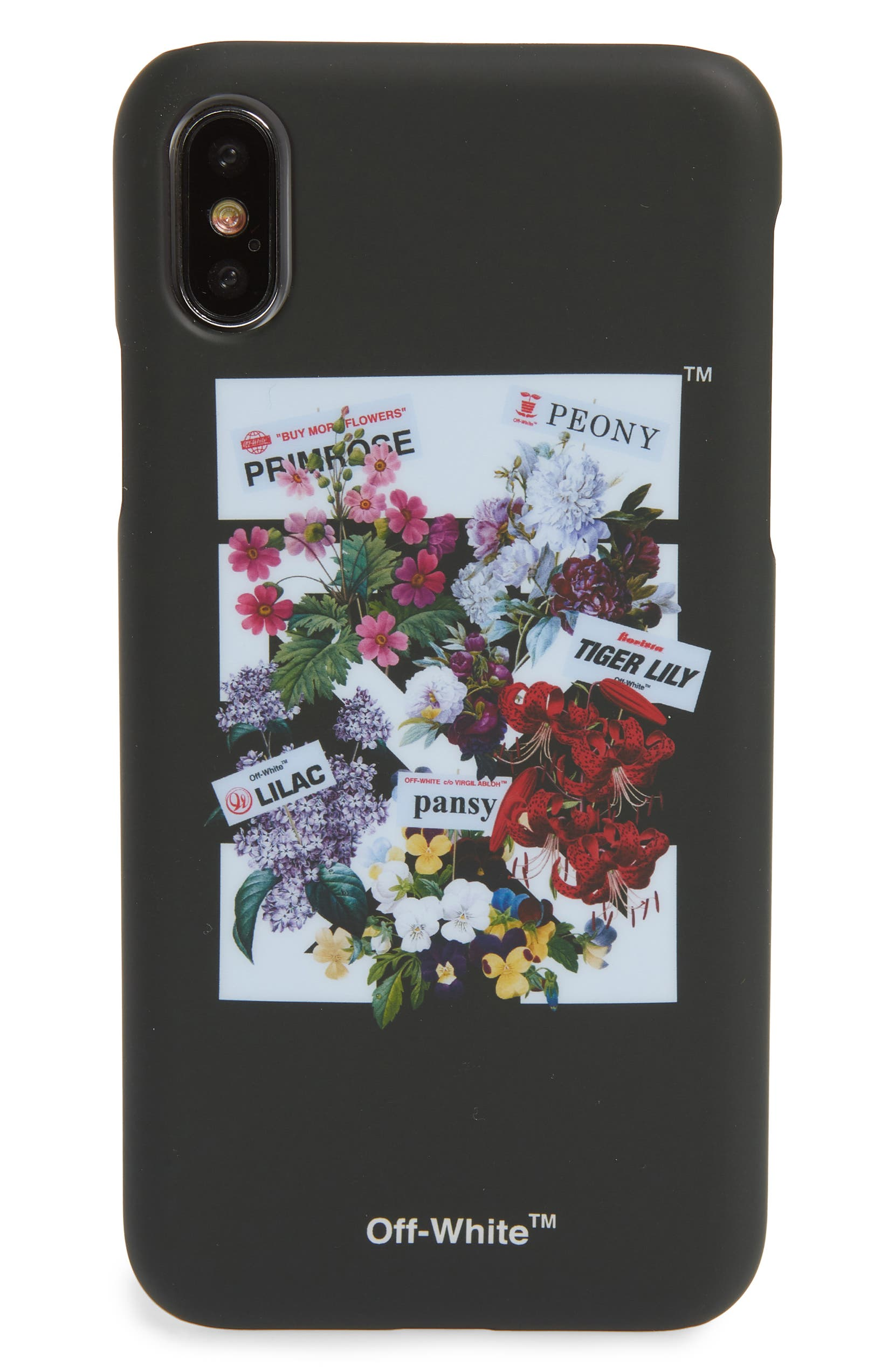 finest selection 154cd 8ff74 Off-White Flower Shop iPhone X Case   Nordstrom