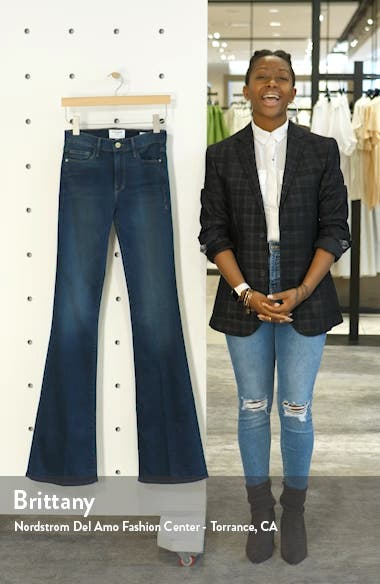 Forever Karlie High Waist Flare Jeans, sales video thumbnail