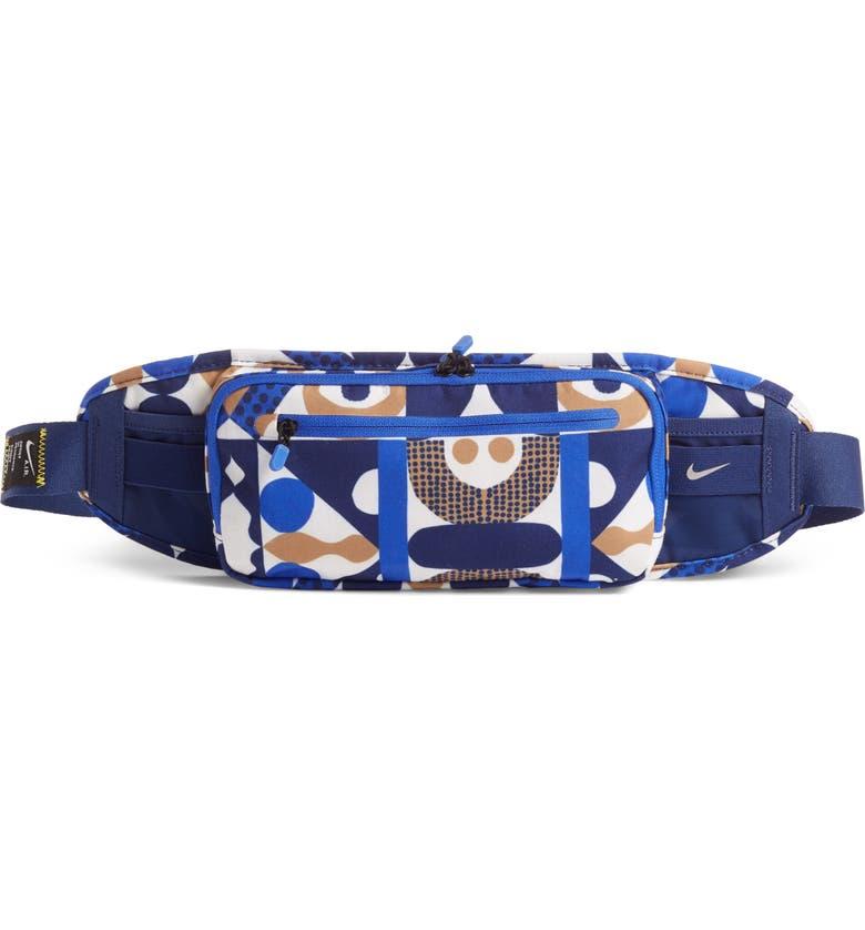 NIKE Cody Hudson Art Belt Bag, Main, color, BLUE VOID/ HYPER ROYA