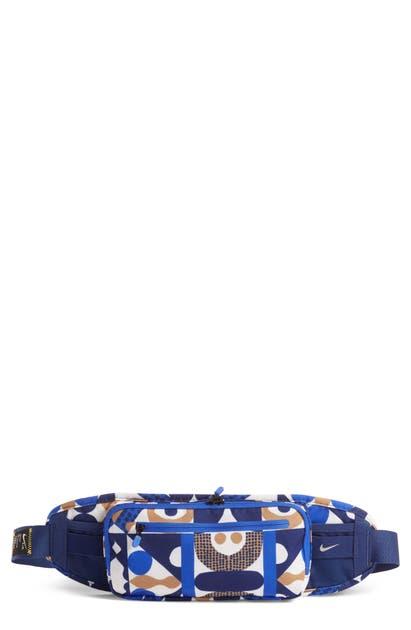 Nike Cody Hudson Art Belt Bag In Blue Void/ Hyper Roya