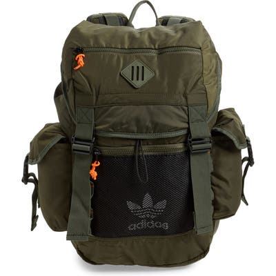 Adidas Originals Urban Utility Ii Dark Green Backpack - Green