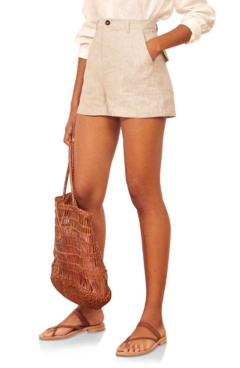 Sterling Linen Shorts by Reformation