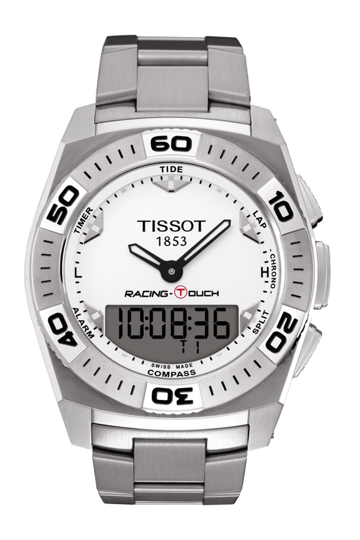 Image of Tissot Men's Racing Touch Watch, 43mm