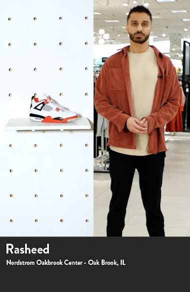Air Jordan 4 Retro Mid Top Sneaker, sales video thumbnail