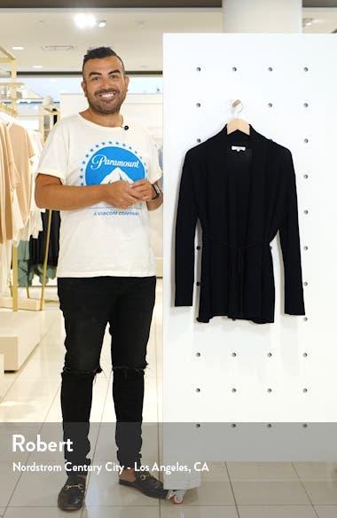 Rib Front Wool & Cashmere Cardigan, sales video thumbnail