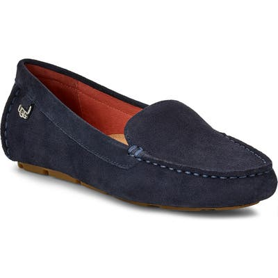 Ugg Flores Driving Loafer, Blue