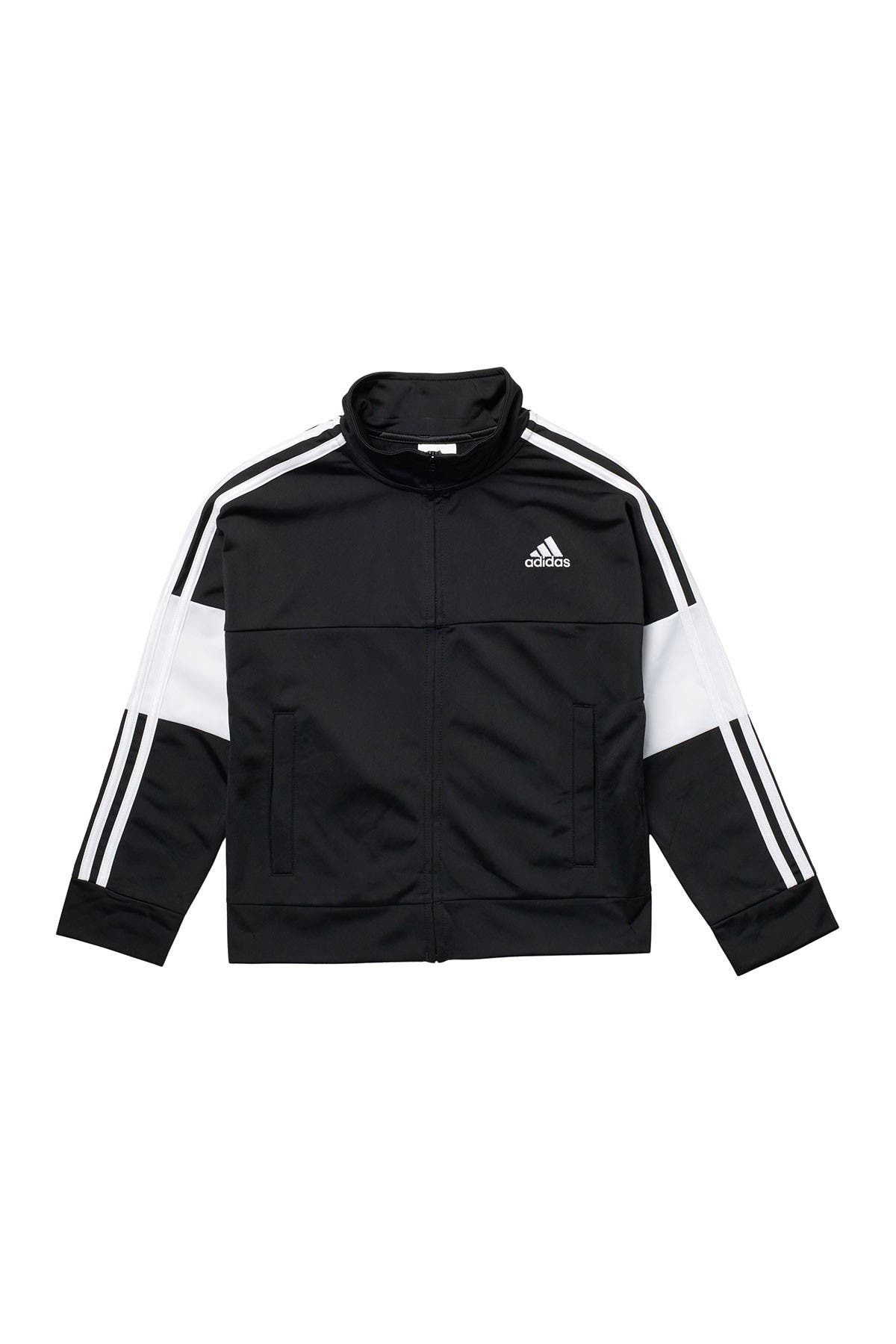 Image of adidas Zip Front Badge Tricot Jacket